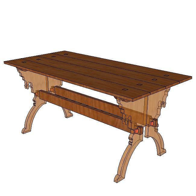 table l 160 pour pied. Black Bedroom Furniture Sets. Home Design Ideas