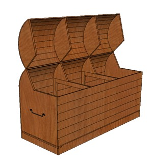 coffre 16. Black Bedroom Furniture Sets. Home Design Ideas